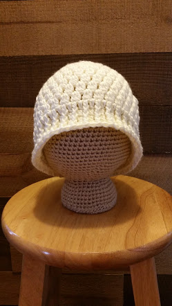 messy bun hat crochet