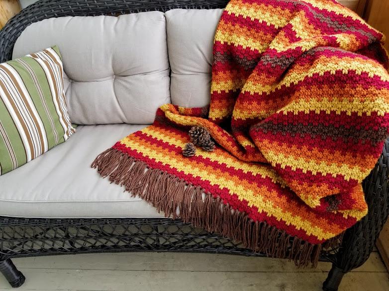 Fall Foliage Afghan Highland Hickory Designs Free
