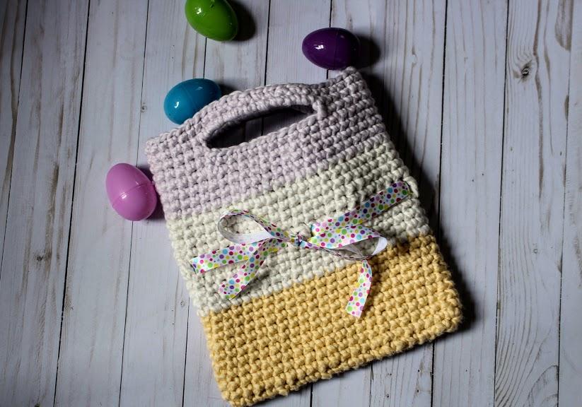 Spring Bag - Highland Hickory Designs - Free Crochet Pattern